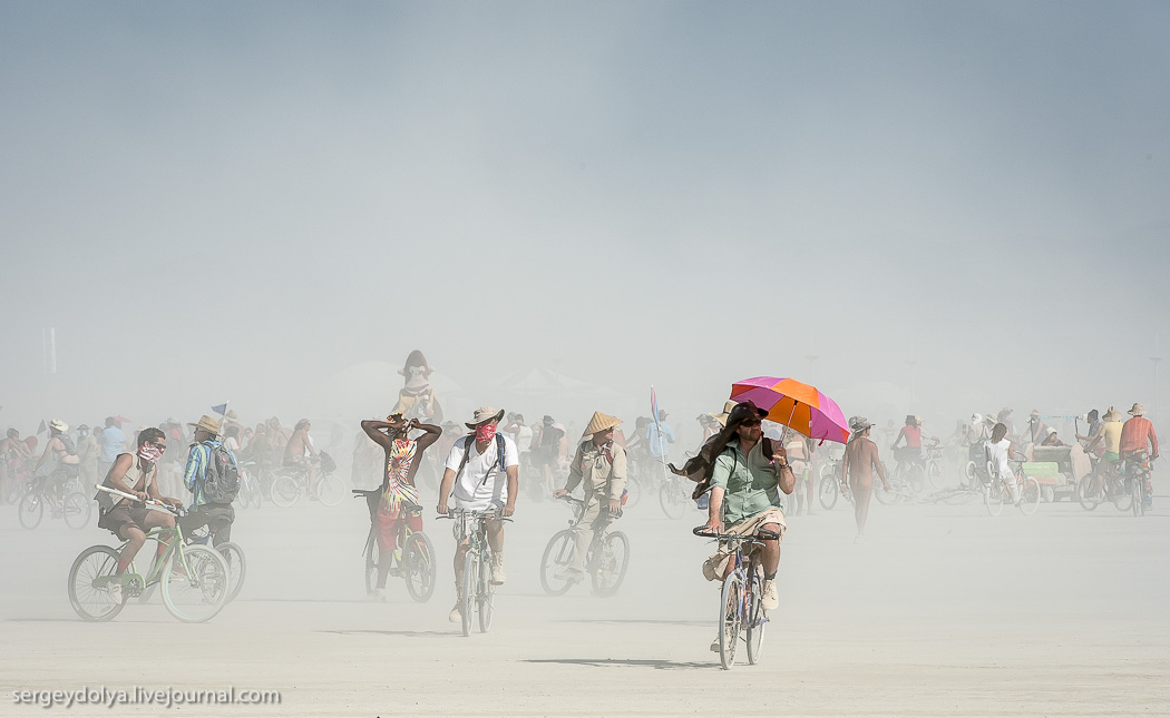Burning Man 2013. Транспорт на фестивале